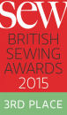 Sew Magazine Bronze Award Winner
