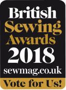 voting button for British Sewing Awards 2018